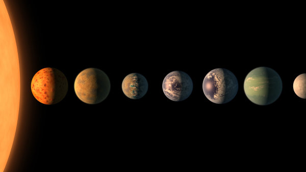 Planet podobných Zemi budeme nacházet čím dál více, říká o novém objevu NASA český astronom - Ilustrační foto.