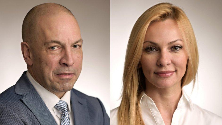 Frank Mike Heuer a Lena Popová, společnost BNP Paribas Real Estate
