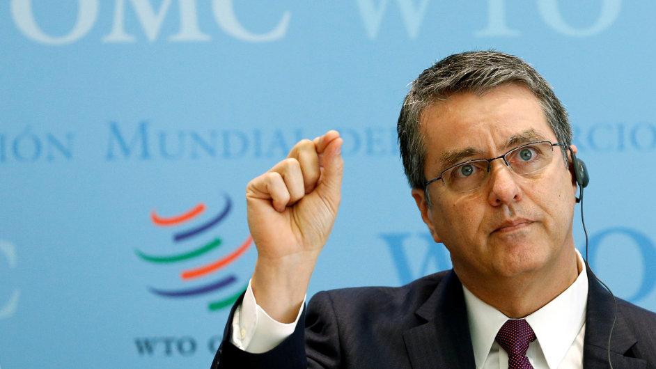 Generální tajemník WTO  Roberto Azevedo.