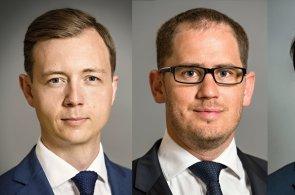 Alexander Rafajlovič, Jan Voslář a Michal Soták novými partnery společnosti Cushman & Wakefield