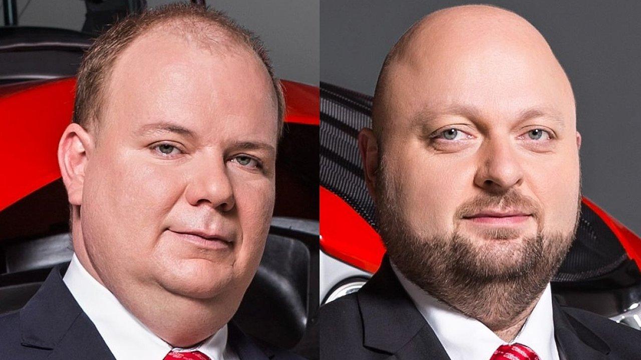 David Kollhammer a Milan Kuneš, členové představenstva společnosti ZETOR TRACTORS