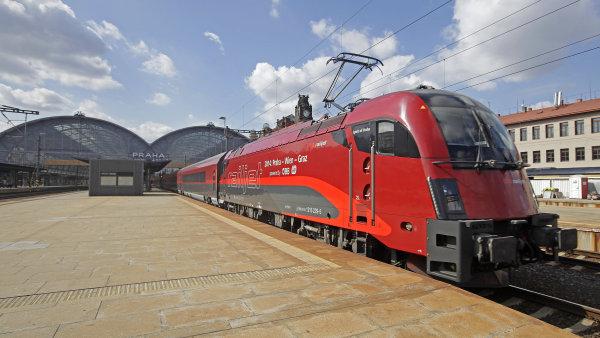 Vysokorychlostních trasa z Drážďan má pokračovat přes Prahu a Brno a Břeclav s alternativním pokračováním na Vídeň a Bratislavu - Ilustrační foto.