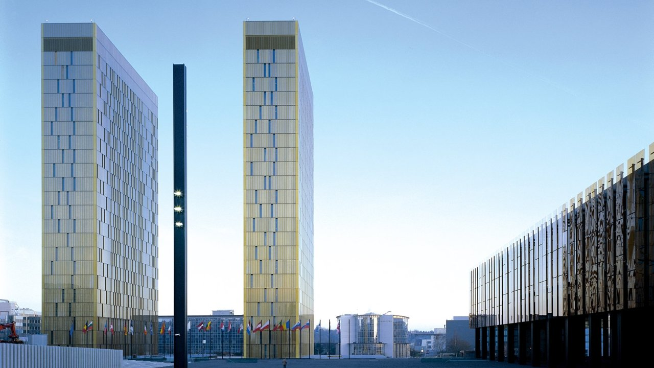 Sídlo Soudního dvora EU.