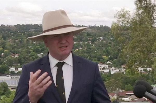 Australský vicepremiér Barnaby Joyce