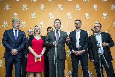 O účasti ve vládě rozhodne referendum členů ČSSD.