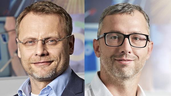 Aleš Willert, generální ředitel skupiny C.S.CARGO Holding. Petr Volák, generální ředitel společnosti C.S.CARGO