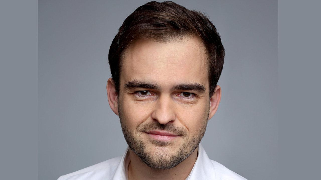 Radim Hamáček, obchodní ředitel pojišťovny Atradius