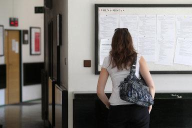 Na jedno volné pracovní místo připadá v průměru 0,7 uchazeče - Ilustrační foto.