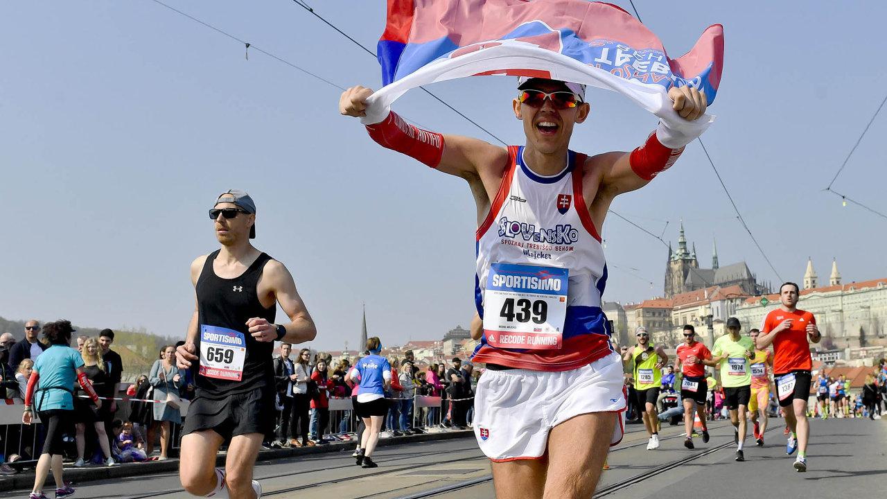 Pražský půlmaraton, duben 2019