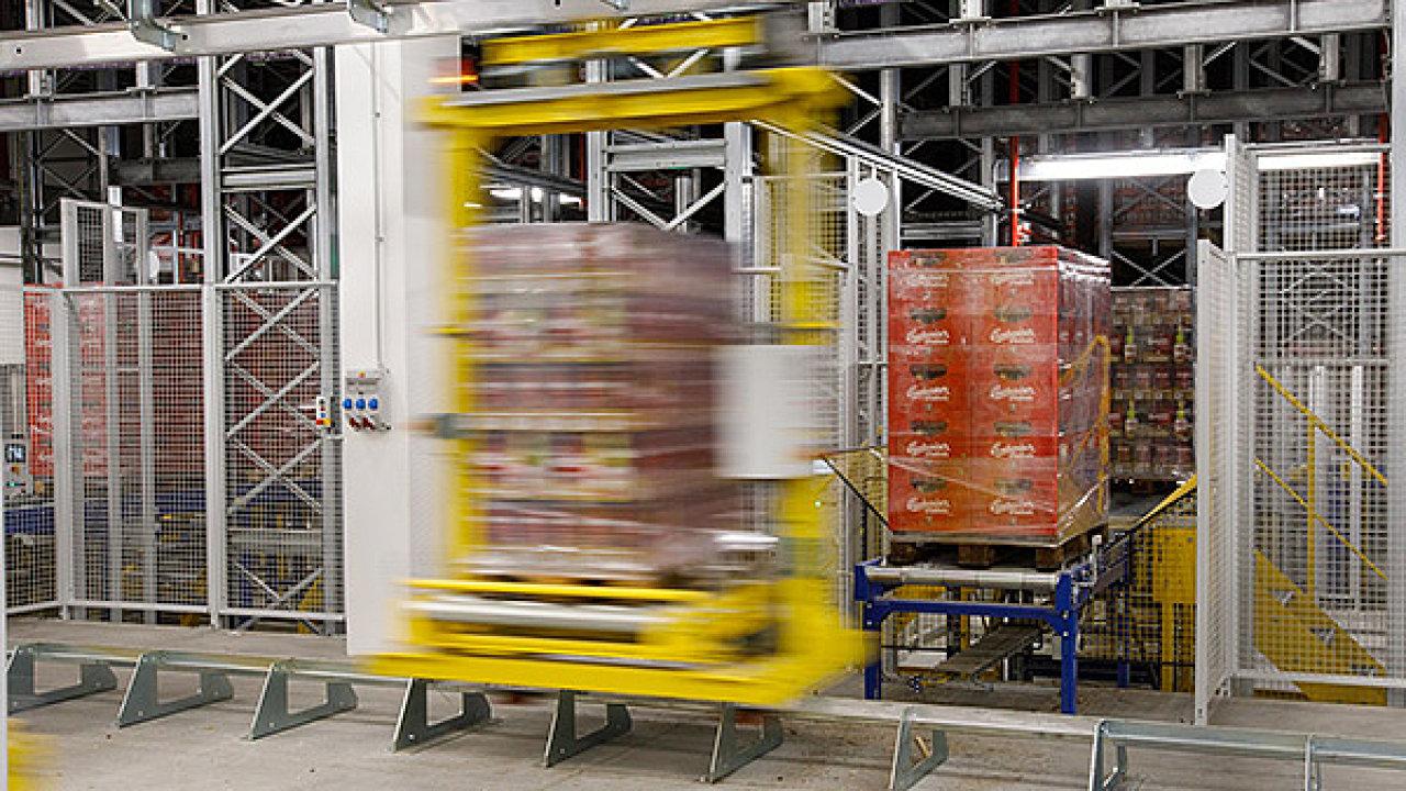 Nové automatizované logistické centrum Budějovického Budvaru