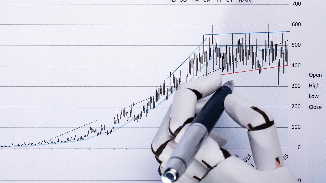 Do umělé inteligence investuje hlavně maloobchod a banky