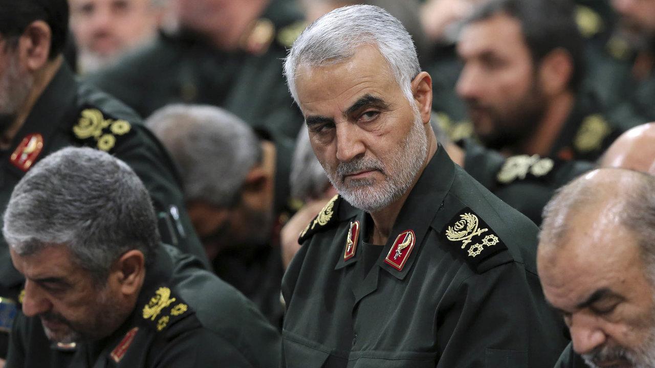 Když se Kásem Solejmání vposledním desetiletí objevil mezi čelnými představiteli íránské politiky, zjistili západní analytici, že oněm vědí jen málo.