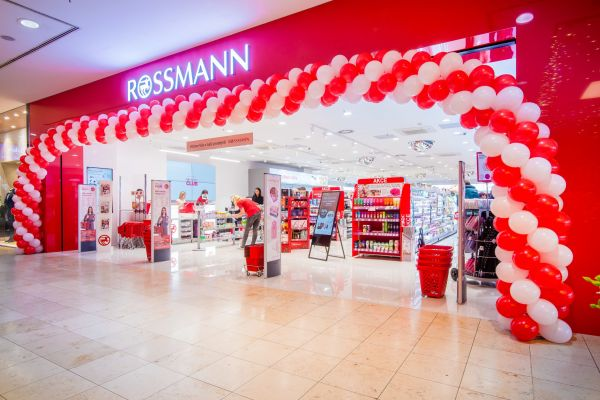Prodejna Rossmann v obchodním centru Arkády Pankrác
