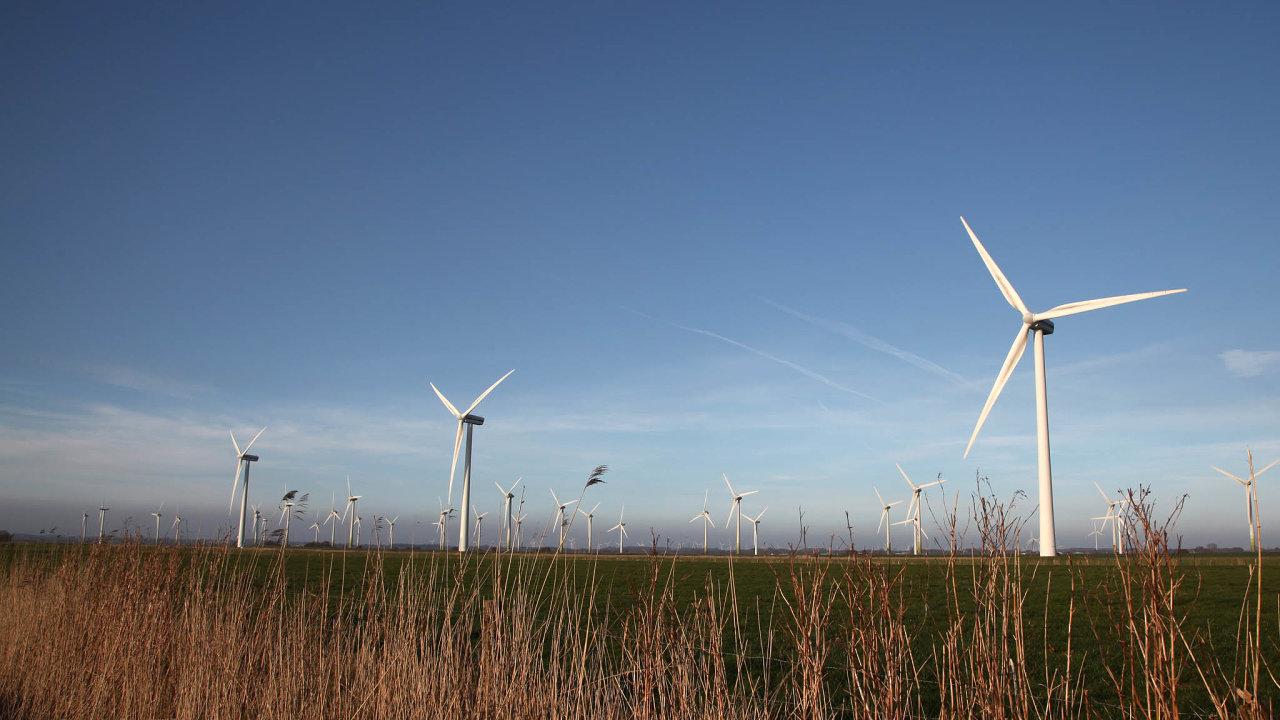 Počet větrníků v Česku má vzrůst téměř třikrát.