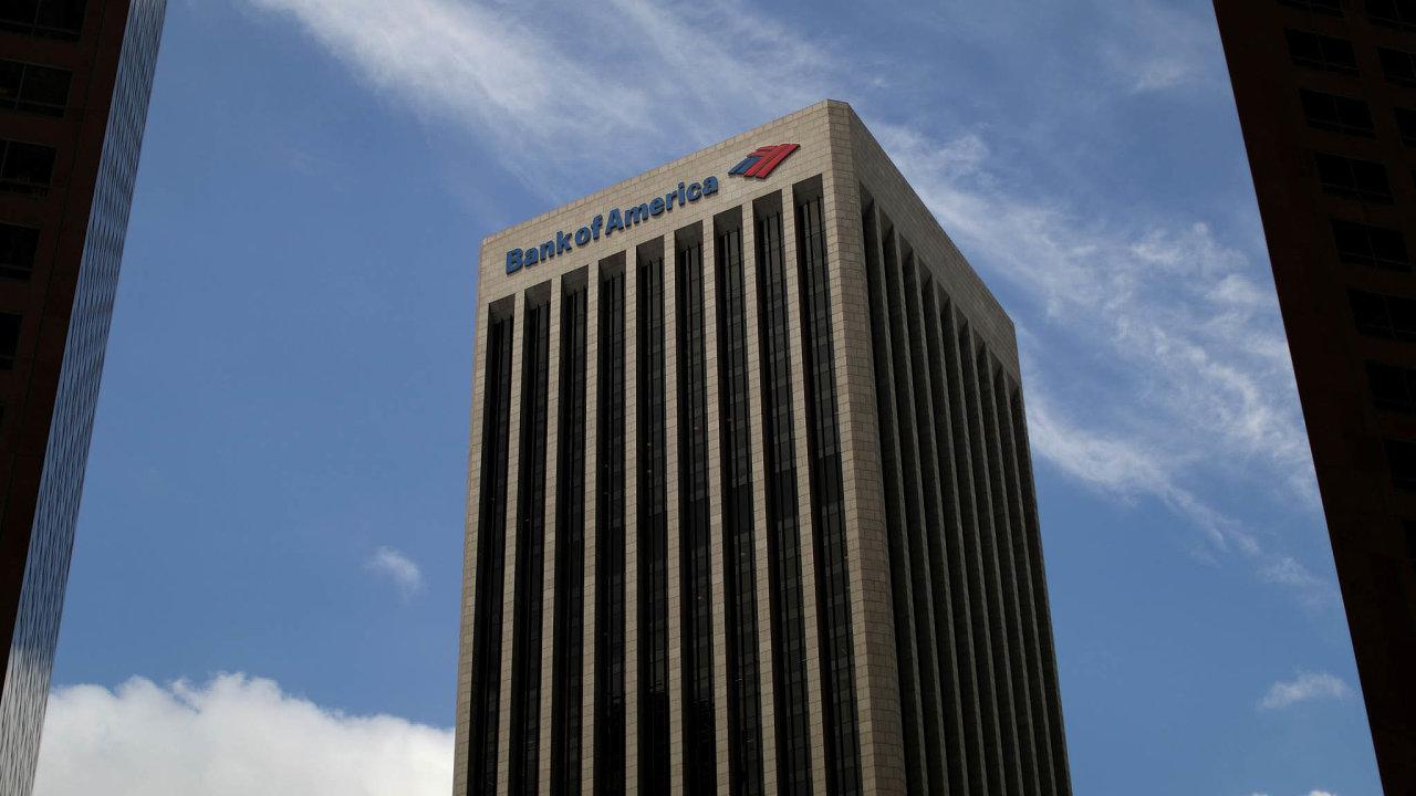 V tomto týdnu zveřejňuje v USA své kvartální výsledky hned několik bank. Jednou z nich je Bank of America.