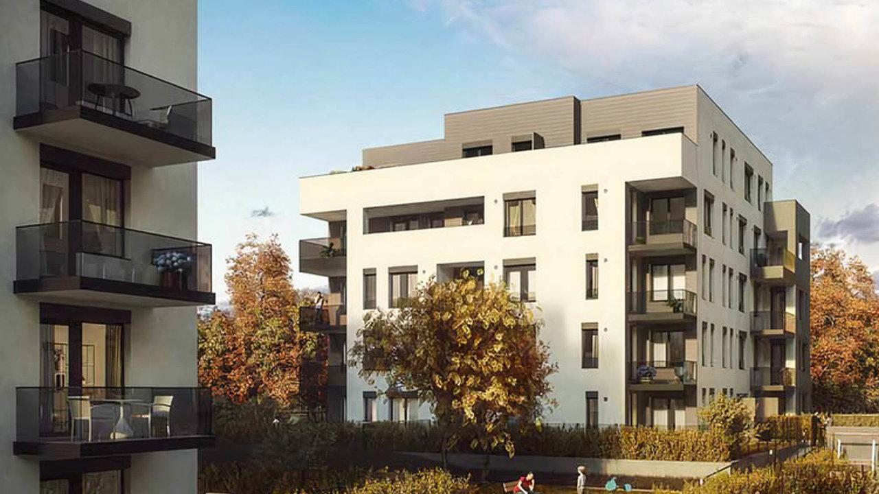 Finský developer YIT dokončil hrubou stavbu deváté celkem zdeseti etap projektu nové rezidenční čtvrti vpražském Hloubětíně. Ta nabídne čtyřidomy opěti ažšesti podlažích celkem se104 byty.