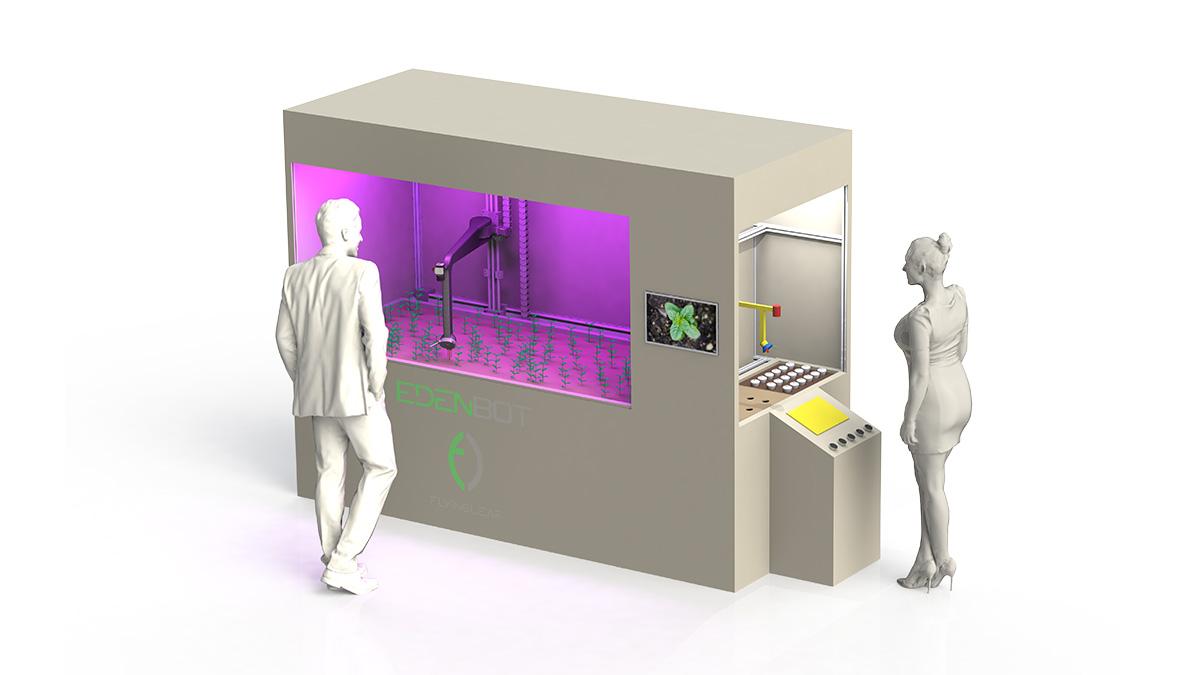 Robotický skleník