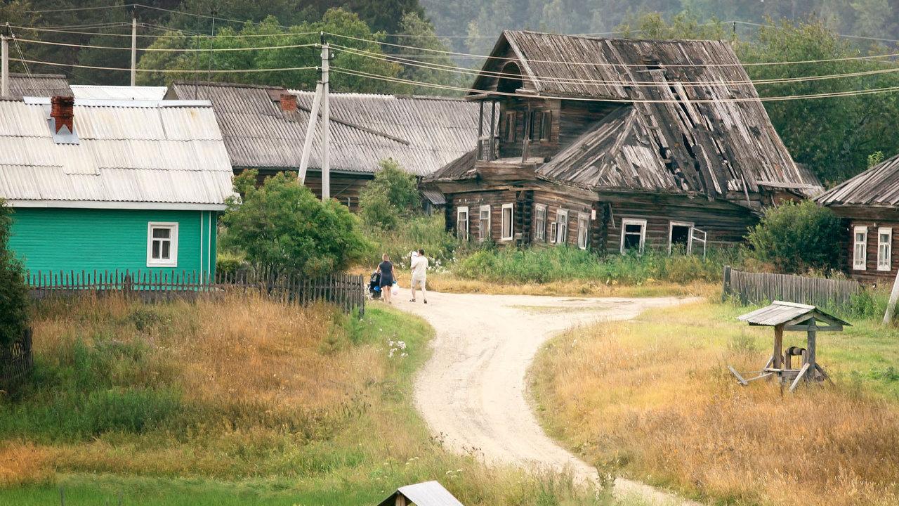 Bizarní historkou z vesnice nedaleko řeky Volhy se zabývají také seriózní ruská média.