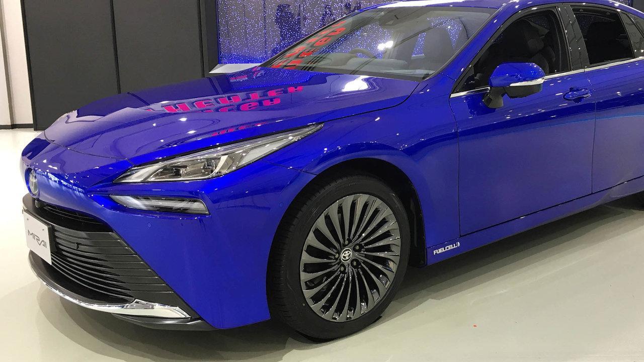 Takto vypadá nové generace vodíkové Toyoty Mirai.