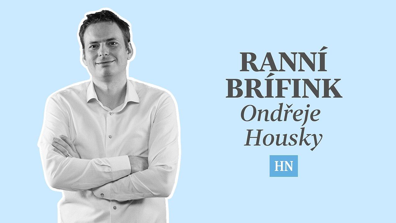 Podcast Ranní brífink Ondřeje Housky
