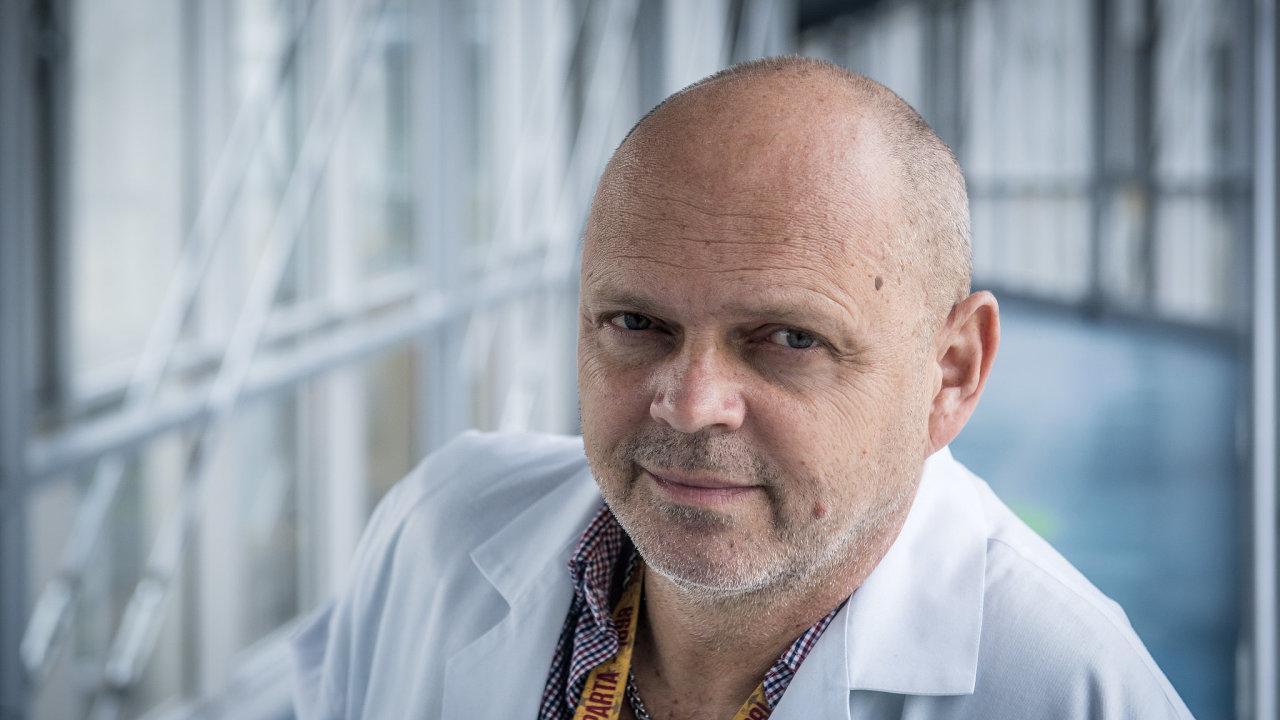 Petr Dulíček, vedoucí centra pro trombózu a hemostázu Fakultní nemocnice Hradec Králové
