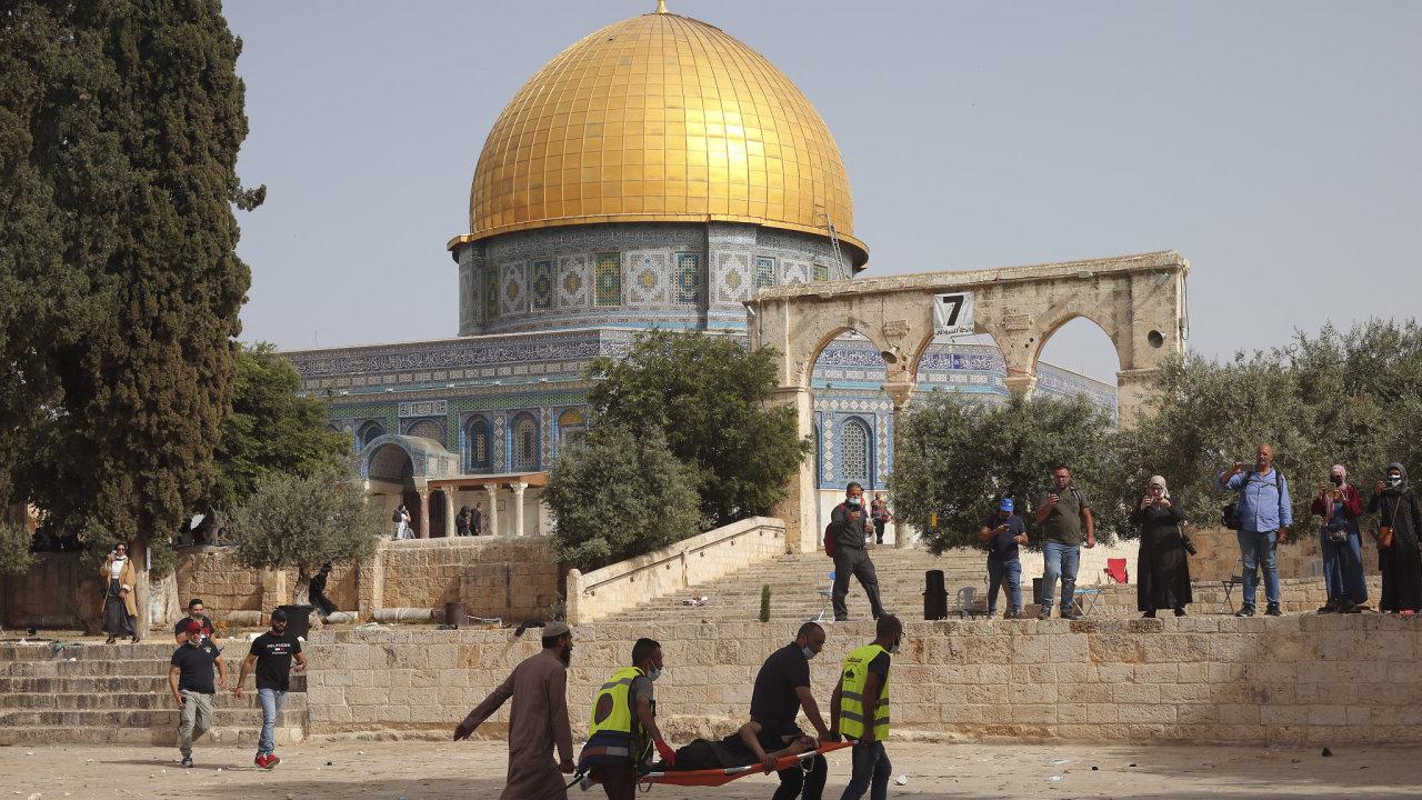 Nepokoje na Chrámové hoře v Jeruzálemě