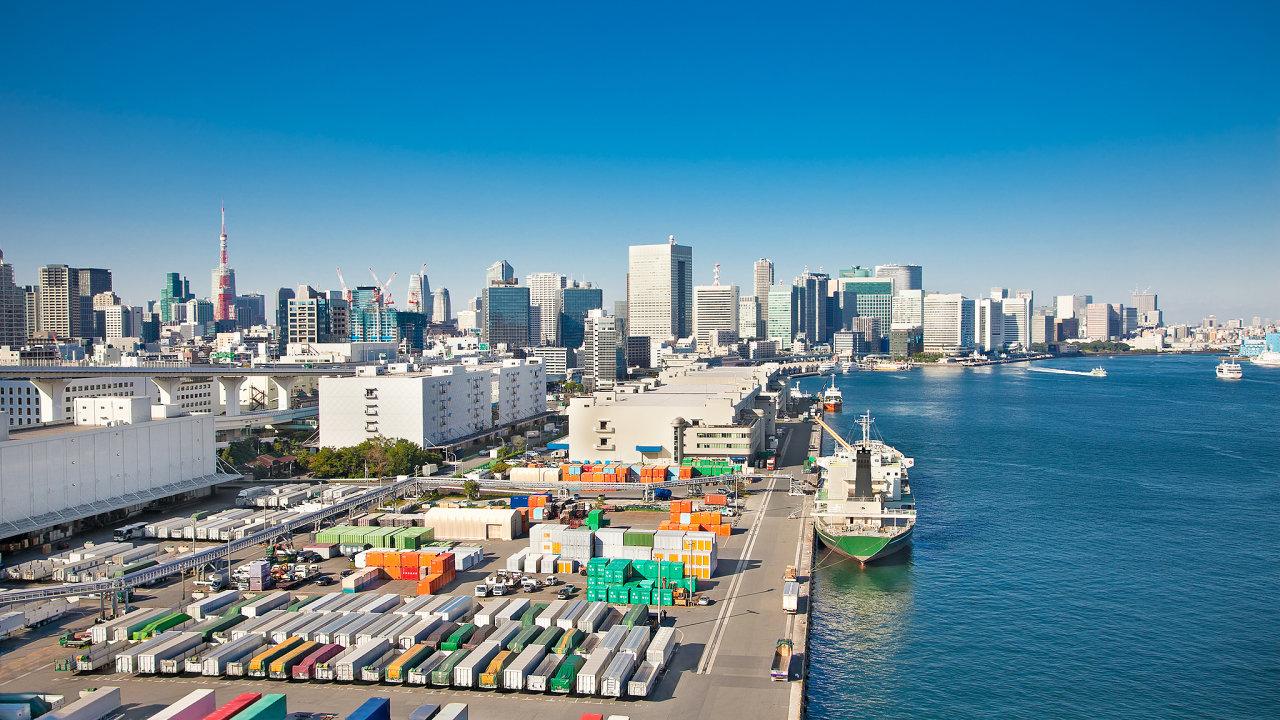 přeprava, kontejnery, přístav, obchod