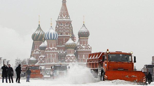Rudé náměstí v Moskvě