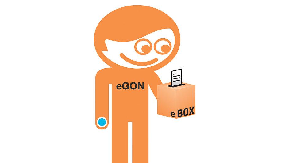 eGon - maskot českého e-governmentu