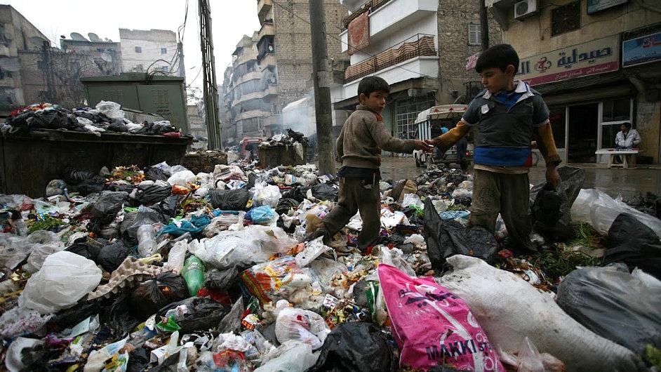 Člověk v tísni působí v syrském Alepu.