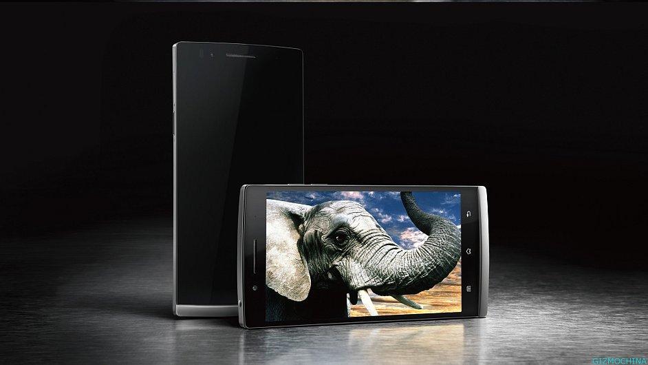 Obří telefon Oppo Find 5 s FullHD rozlišením
