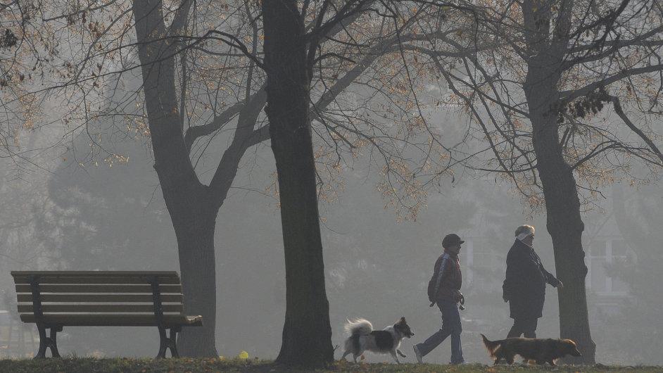 Smog ve Slezsku, ilustrační foto