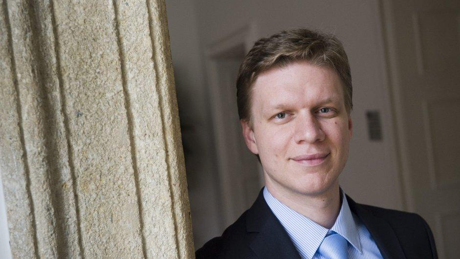 Primátor Tomáš Hudeček (TOP 09)