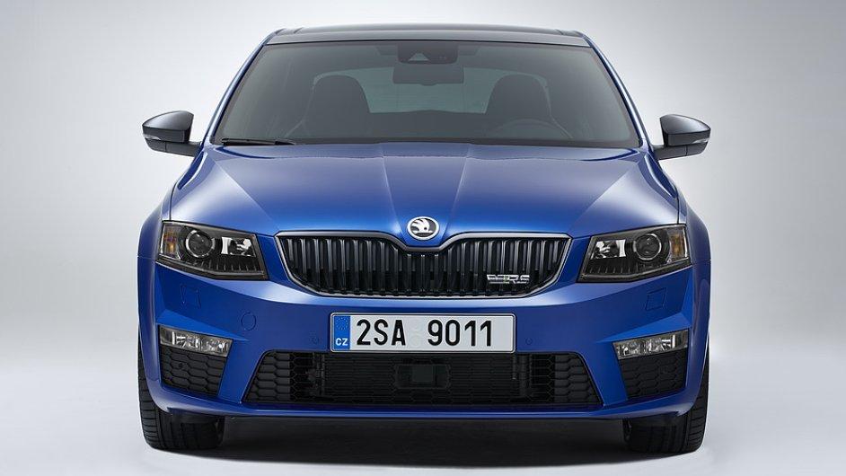 Škoda Octavia RS zdražila o deset tisíc