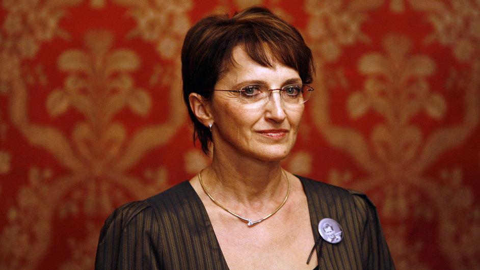 Alena Hanáková, ministryně kultury, TOP 09