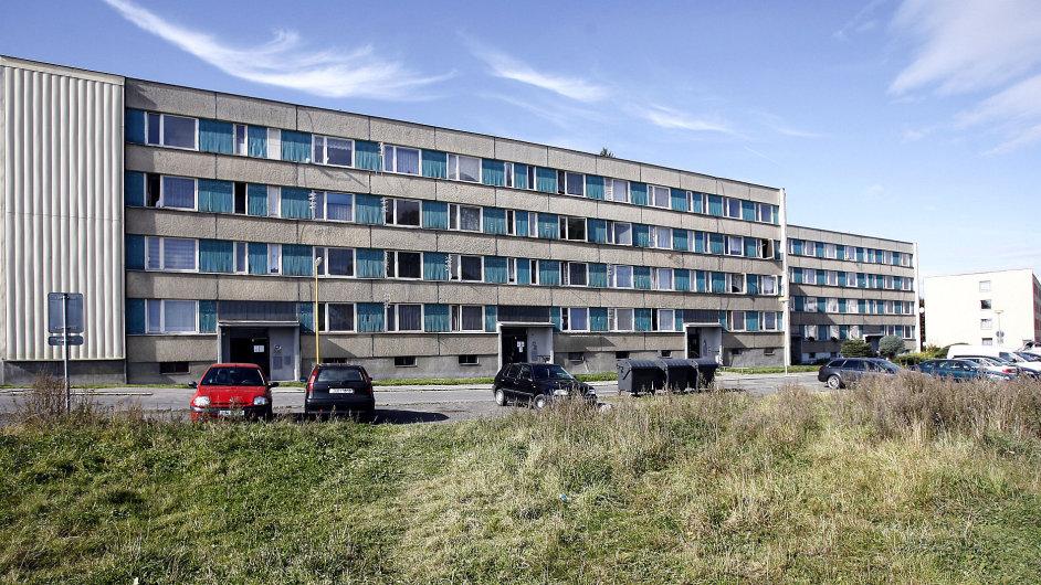 Panelové sídliště ve Šluknově