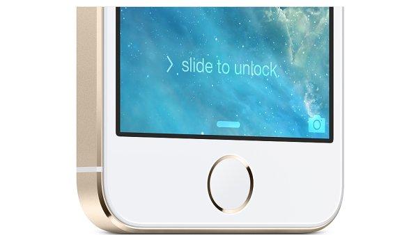 iPhone 5S se čtečkou otisků prstů