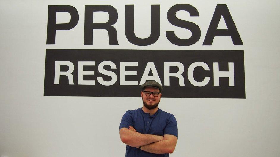 Josef Průša ml. a jeho 3D tiskárny Prusa i3