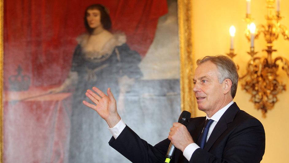 Bývalý britský premiér Tony Blair na Fóru HN