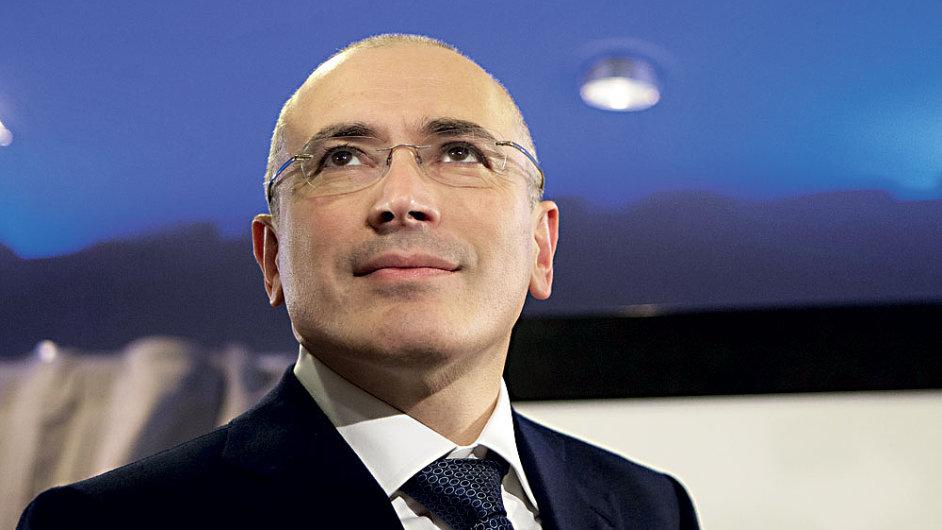 Propuštěný ruský oligarcha Michail Chodorkovskij