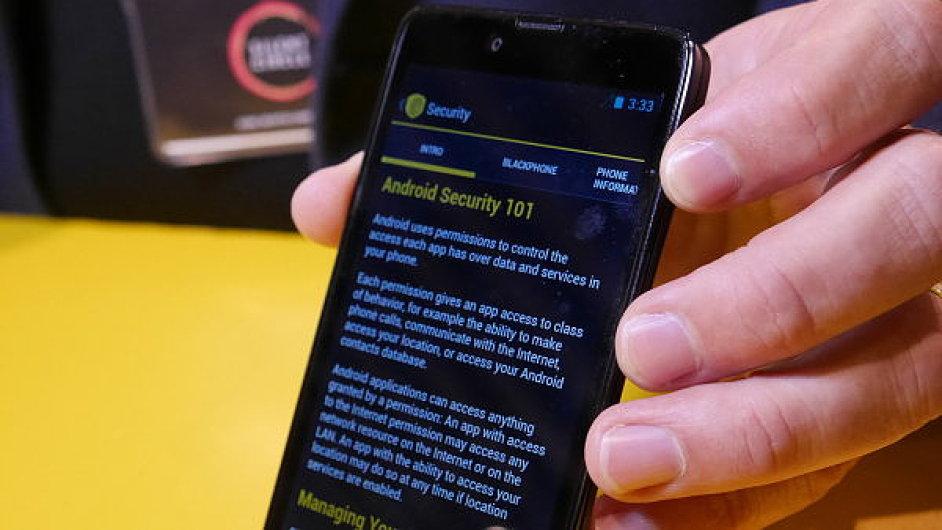 Bezpečný telefon Blackphone od autora šifrování PGP