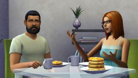 Snídaně v Sims 4