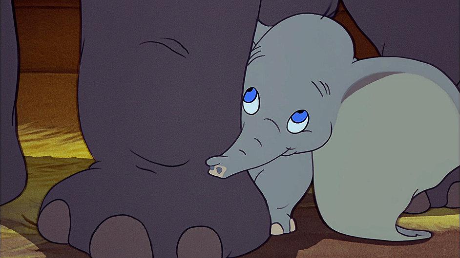 Původní film Dumbo byl do kin uveden roku 1941.