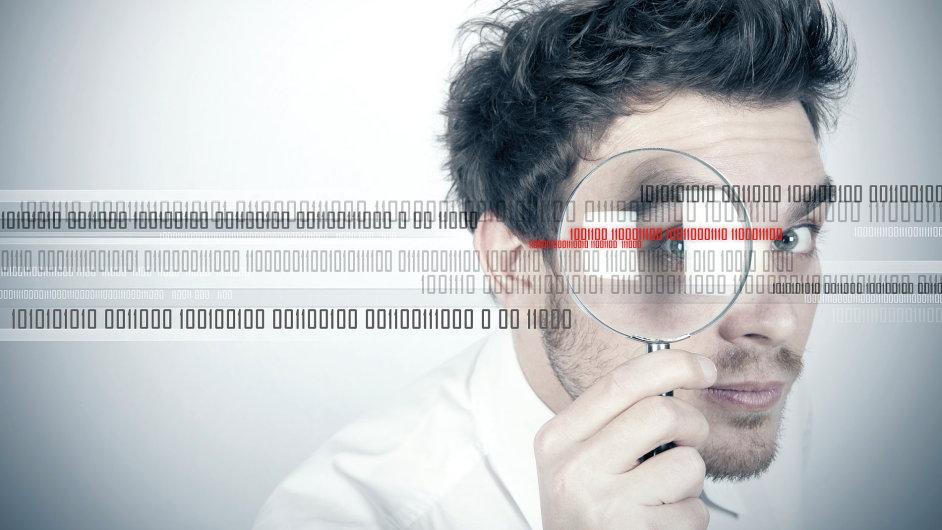 Kybernetická bezpečnost – ilustrace