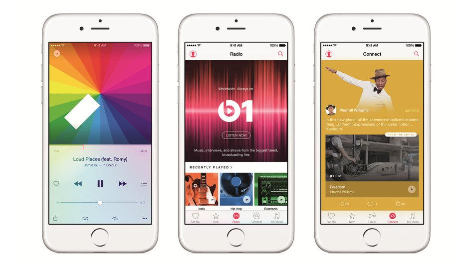 Apple Music bude k dispozici od konce června, bude stát právě tolik jako Spotify v placené verzi, tedy deset amerických dolarů za měsíc