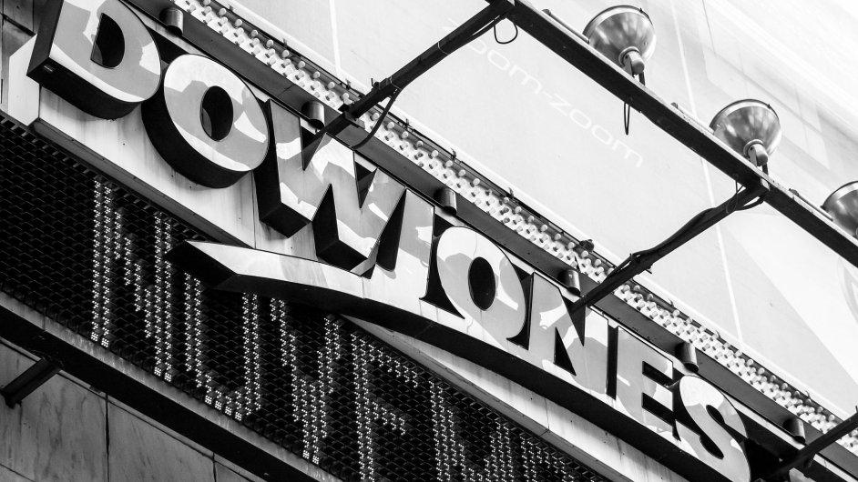 Dow Jones - Ilustrační foto.