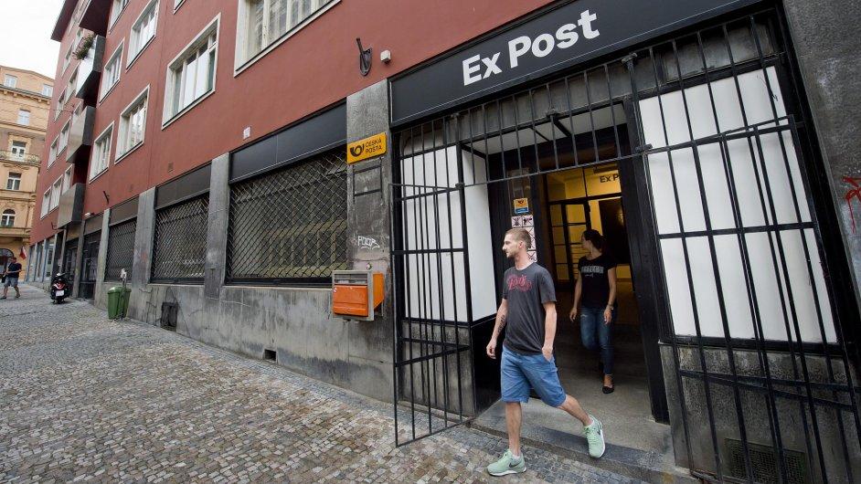 Snímky z nového prostoru pro umění Ex Post