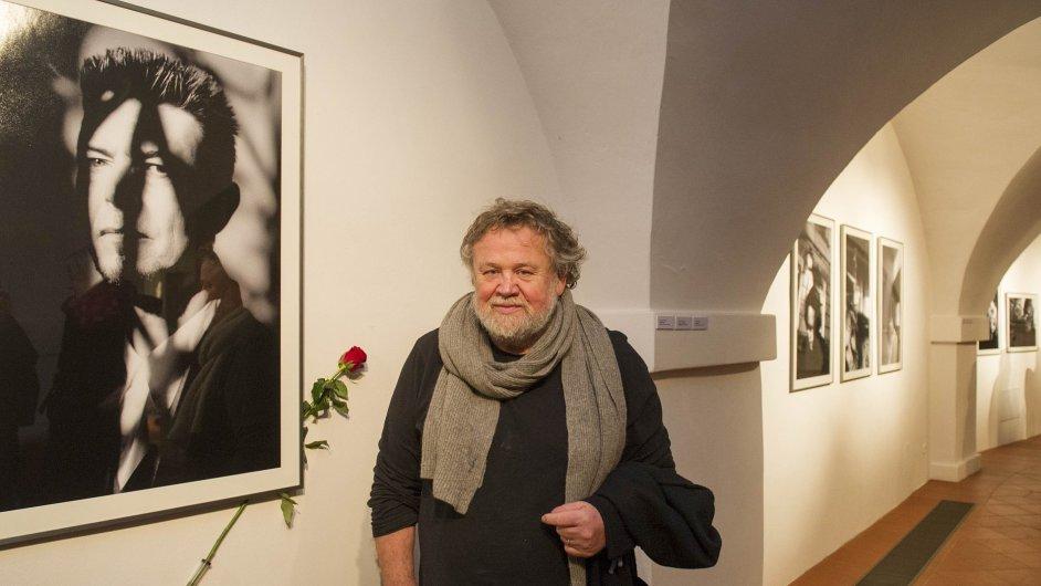 Snímek z výstavy Antonína Kratochvíla