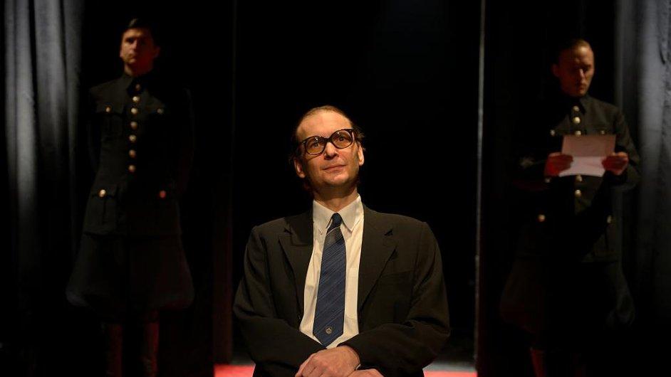 Marek Cisovský na snímku z vítězné inscenace Slyšení.