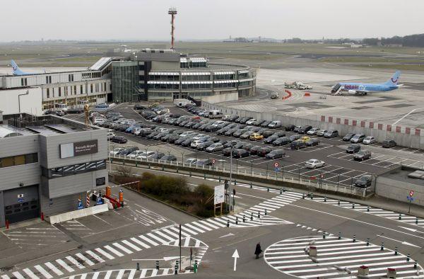 Bruselské letiště Zaventem.